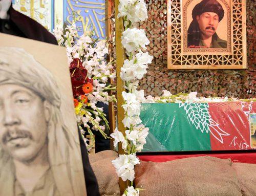 گزارش تصویری مراسم تشییع شهید مجاهد نسیم افغانی